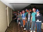 EVERY SINGLE Mega Man hat in crochet by BunnieBard