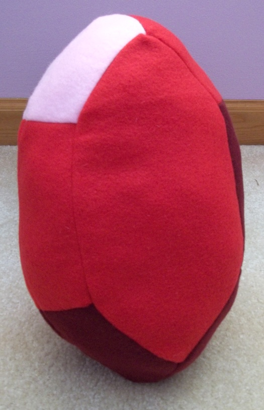 Red Rupee Pillow by BunnieBard