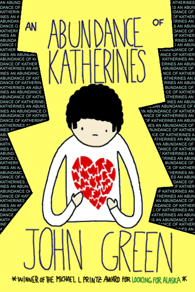 an abundance of katherines Being a child prodigy, colin, the main character in john green's an abundance of katherines, spent a majority of his young adult life in search of his .