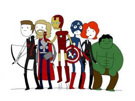 avenger time by EGLemming