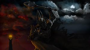 Sauron by Gradergage
