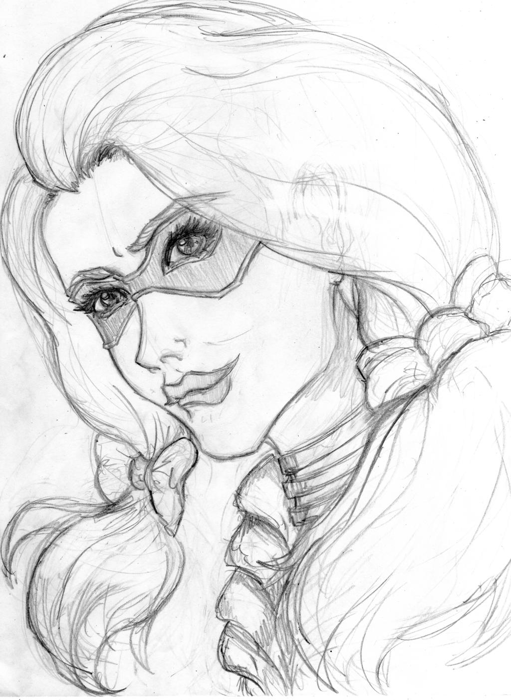 Sketch Harley Quinn By SerenityMoonCosplay On DeviantArt