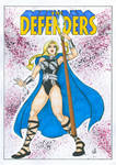 Commission: Variant Cover - Defenders - by SerenityMoonCosplay