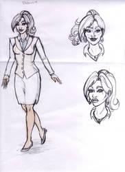 Sketch for Comics School Project Voodoo story by SerenityMoonCosplay