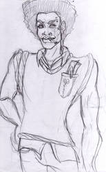 Sketch for Comics School project: Voodoo Story 2 by SerenityMoonCosplay