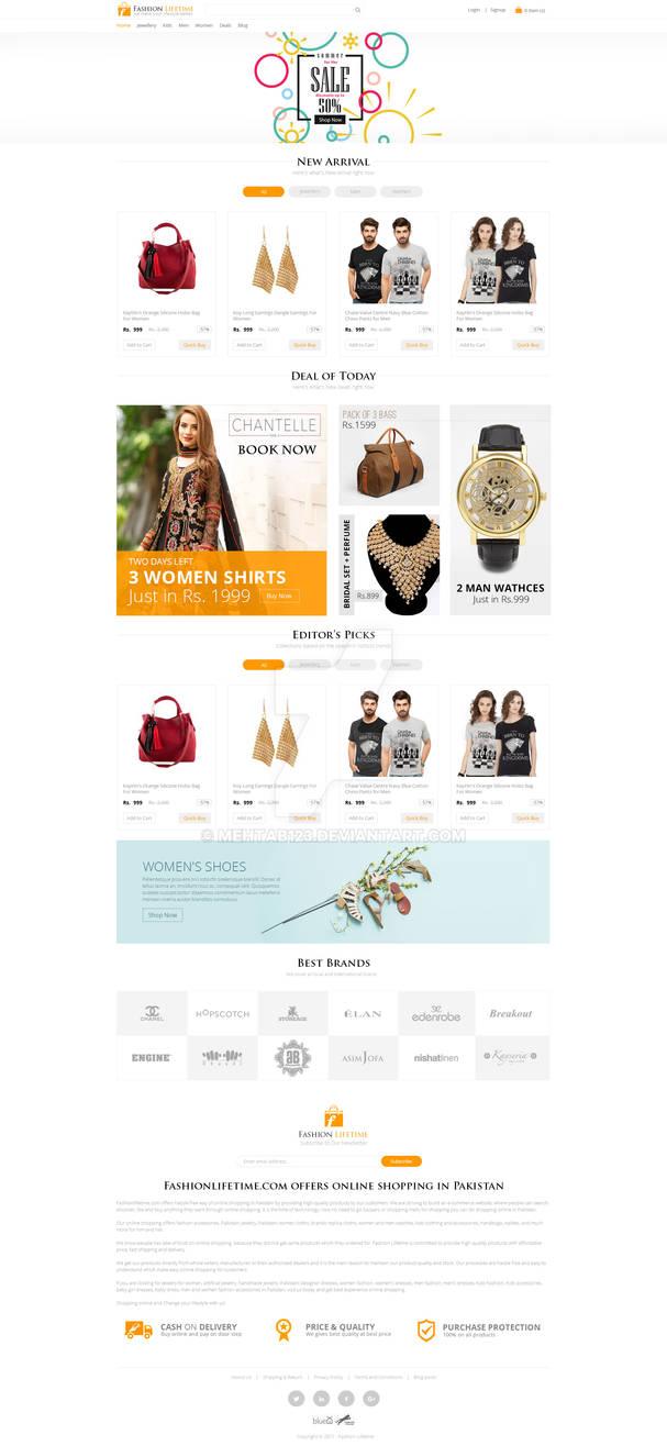 Fashion Lifetime - A Online Shopping Store