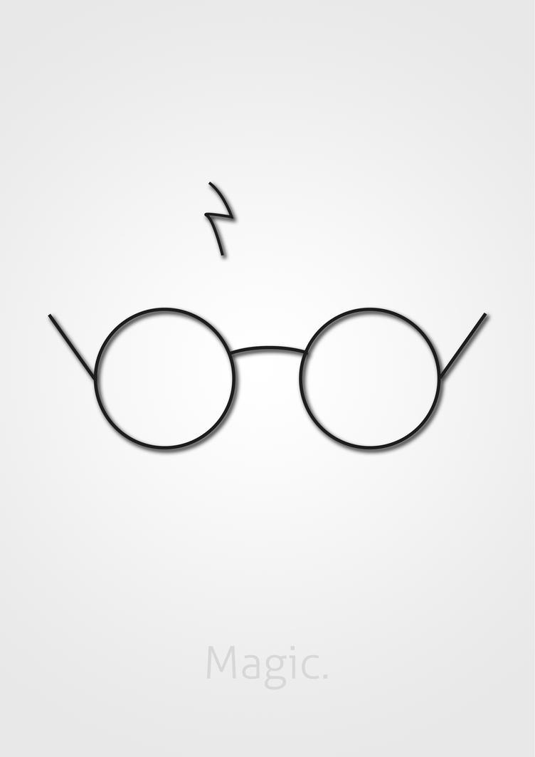 Best Wallpaper Harry Potter Minimalistic - minimalist_portrait___potter_by_axe315-d4sfygr  Perfect Image Reference_508354.jpg