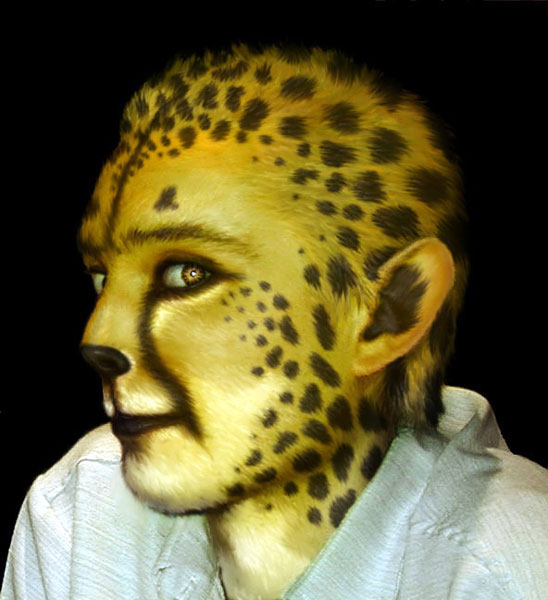 Were-cheetah by nudge1