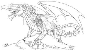 Valka Dragon Form