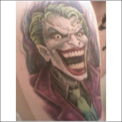 My joker tattoo by invisibleman1000 jpg