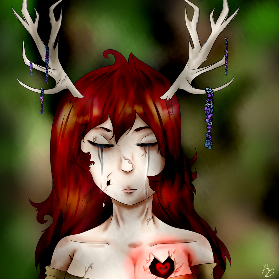 My DEER child... by ClelieTheBlueArcher