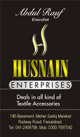 Business Card Hussan Brother by asaleem