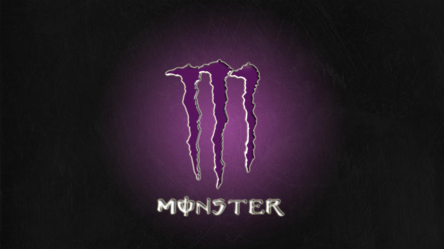 purple monster energy logo wallpaper wwwpixsharkcom
