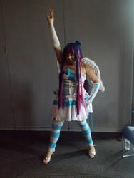 Kayla as stocking~! by Exotic-Kawaii