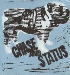 Chase and Status Print by luminosityofstars