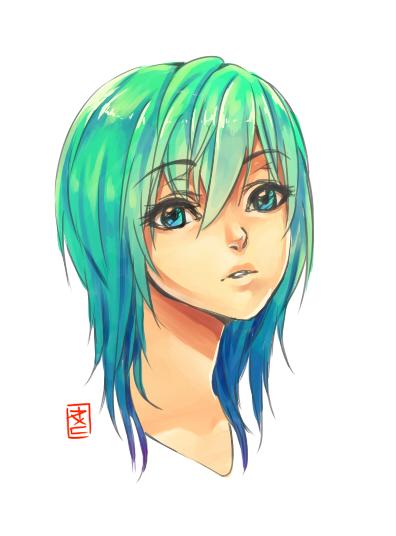 random head by MarionetteBiri