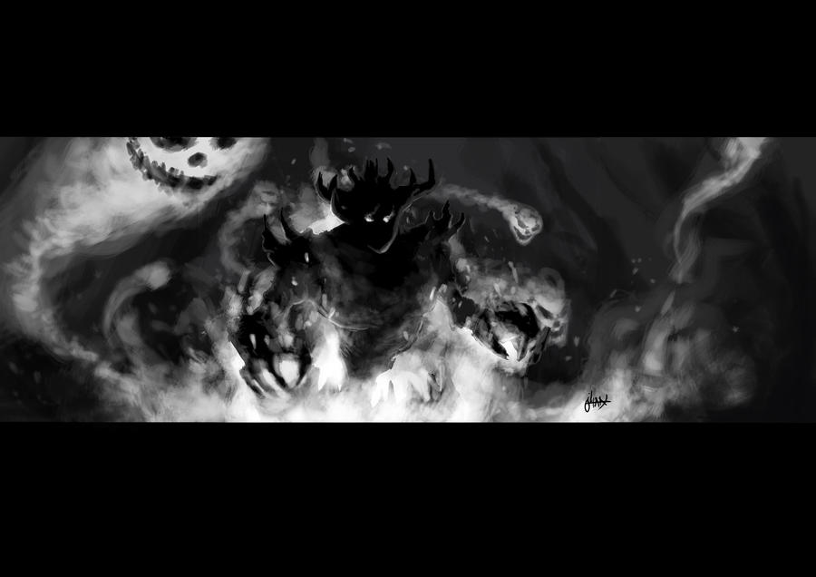 Shadow Fiend by terryshinigami on DeviantArt
