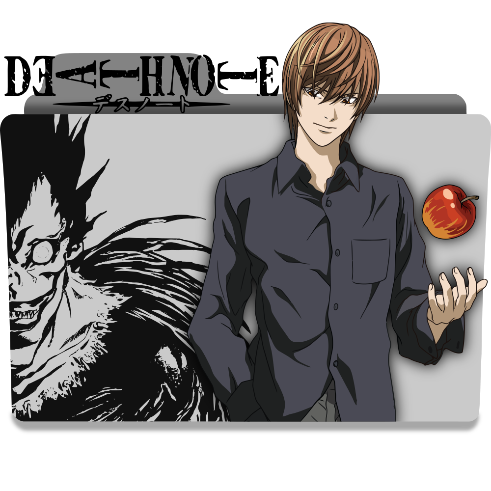 Death Note Folder Icon by ThePi7on on DeviantArt