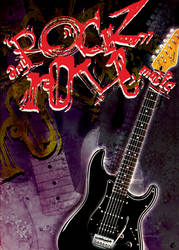 rock'n roll music by Gra-FIT