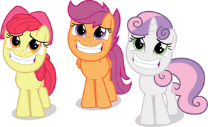 Pleadin' Pretty Puny Ponies. by PhucknuckL
