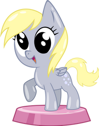 Pocket Pony Derpy Whooves AKA Muffins by PhucknuckL