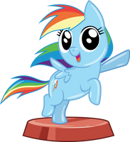 Pocket Pony - Rainbow Dash by PhucknuckL