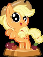 Pocket Pony Applejack by PhucknuckL