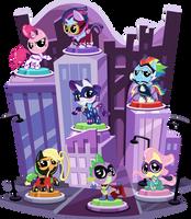 Display Doohickey - Power Ponies by PhucknuckL
