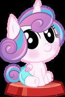 Pocket Pony Flurry Heart by PhucknuckL