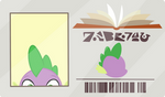 Spike's Library Card