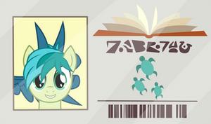 Sandbar's Library Card.