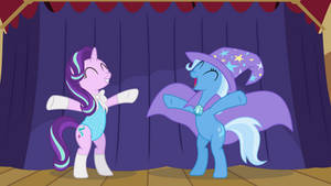 Starlight Glimmer, Trixie's Glamorous Assistant.