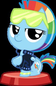 Pocket Pony - Retro Rainbow Dash