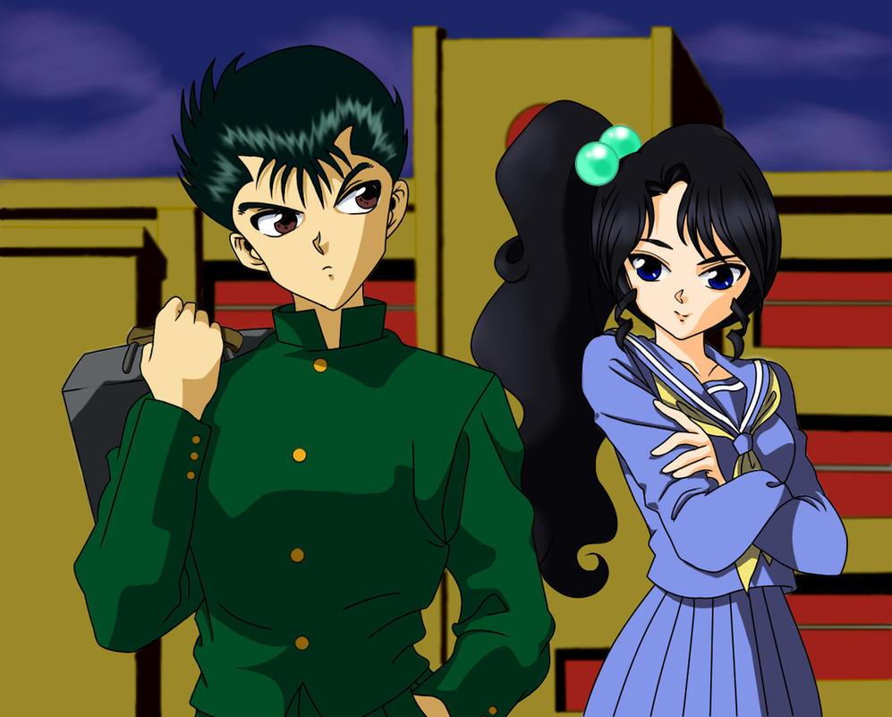 Yu Yu Hakusho  Yusuke and Kagami by PumpkinChansYu Yu Hakusho Yusuke Wallpaper