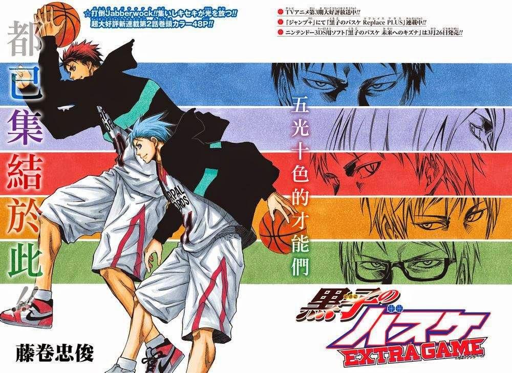 KUROKO NO BASUKE EXTRA GAME Chapter 2 is RAW! by PumpkinChans