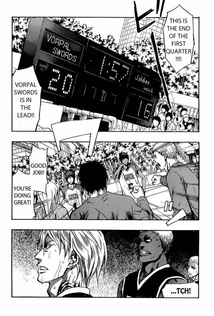 Kuroko no Basket Extra Ch.3:  The Fight is ON! by PumpkinChans