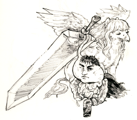 Guts And Griffith, Literally By Ohsnap-son On DeviantArt