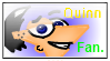 Quinn Flynn stamp. by Pinky1babe