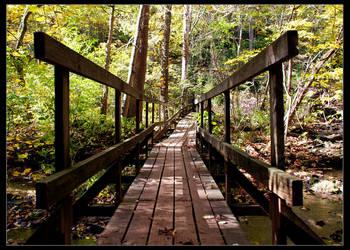 autumn bridge. by AKAxHUCK