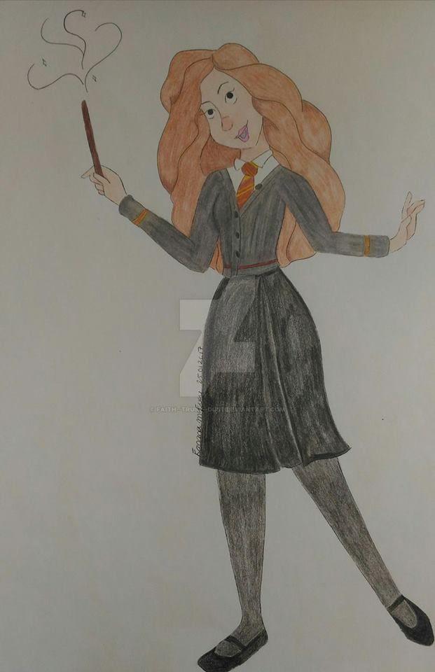 Hermione -- Disney Style by faith--trust--dust