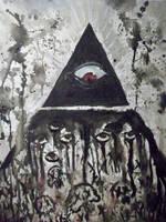 Illuminati eye by Corpse-boy