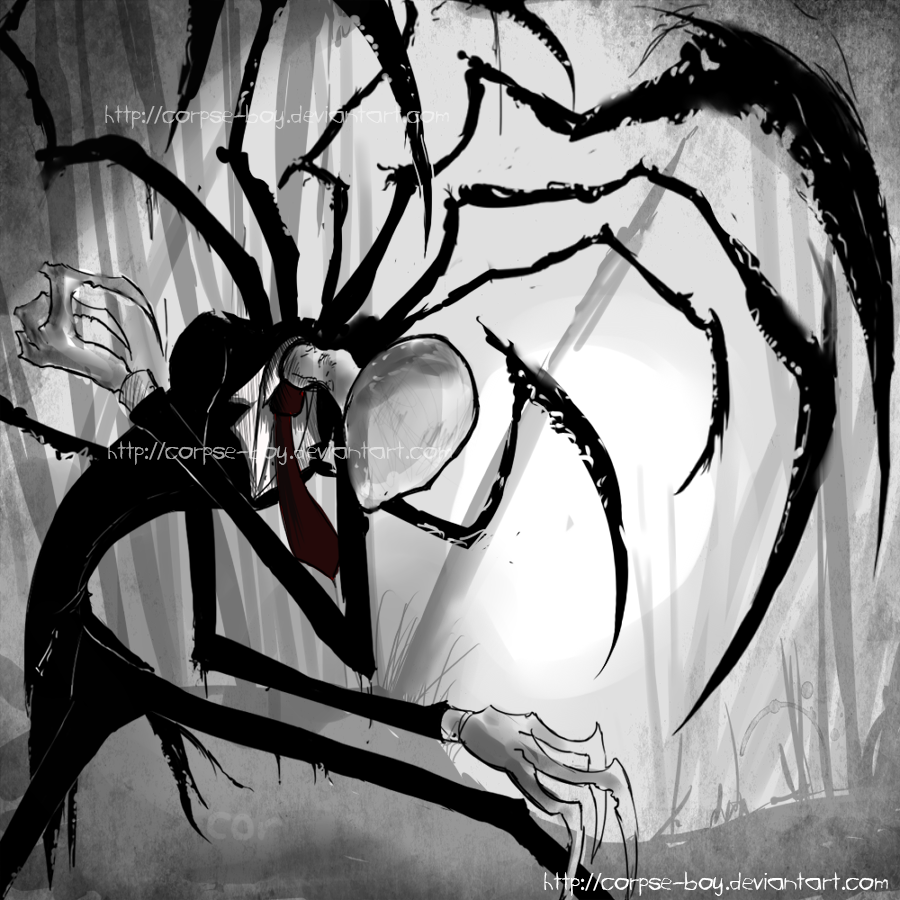 slender man by Corpse-boy