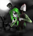 Gaffie the grave digger