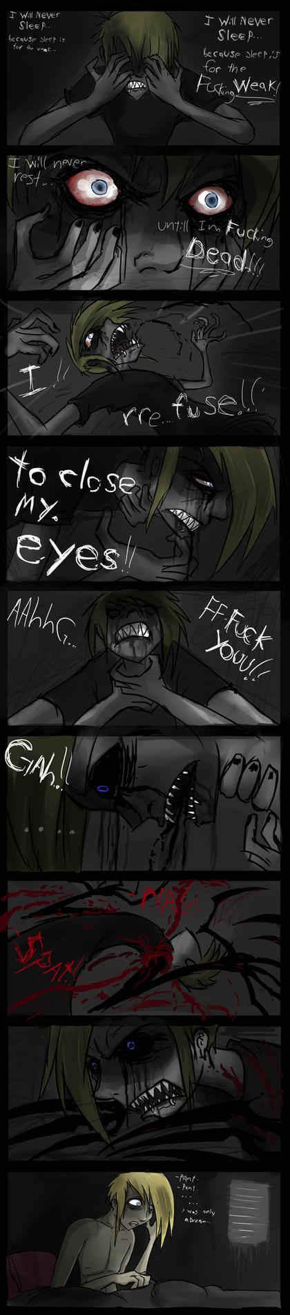 i wont sleep... by Corpse-boy