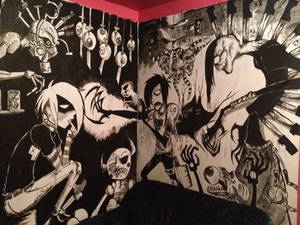 A darker reality 'wall size' finshed