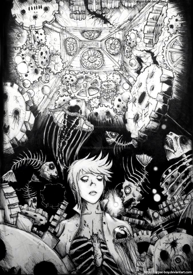 Dead gears by Corpse-boy