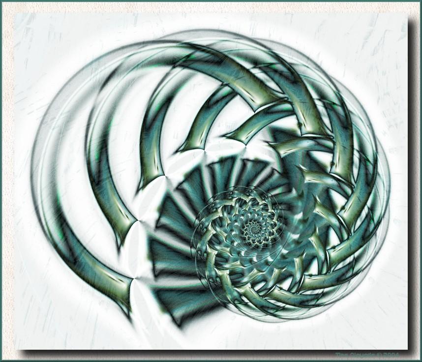 Conchaloid by aartika-fractal-art
