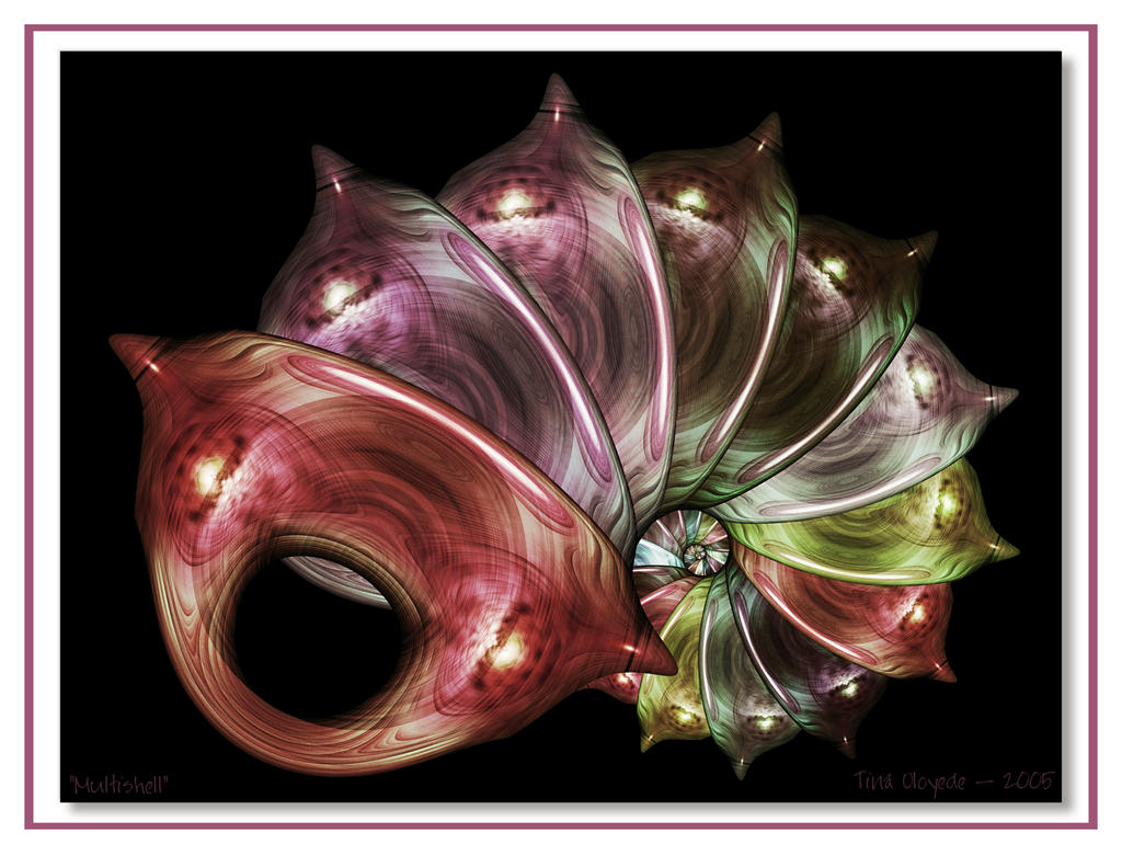 Multishell by aartika-fractal-art