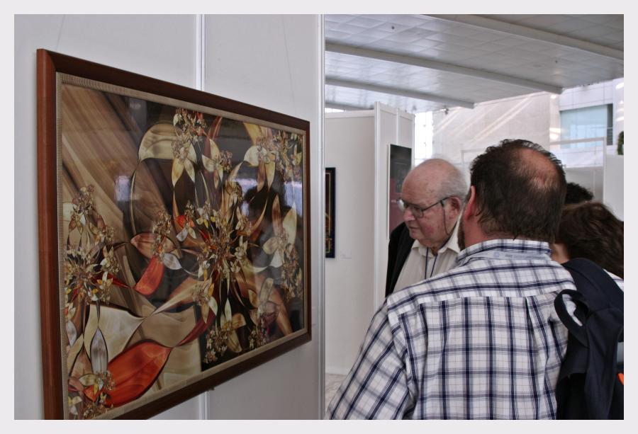 Benoit Mandelbrot, ICM Fractal Art Exhibition 2006