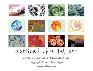 A Day at the Beach Calendar by aartika-fractal-art